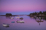Maine  Newagen  Harbor View  Dawn