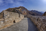 Evening Light on the Great Wall of China