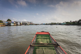 Vietnam  Mekong Delta Cai Be  Cai Be Floating Market  View from Small Boat