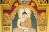 Singapore  East Singapore  Mangala Vihara Buddhist Temple  Buddha Mural