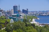 View over Coast of Baku  Baku Bay  Azerbaijan