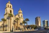 Saint Augustine Catholic Church in Downtown Tucson  Arizona  Usa