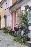 Denmark  Jutland  Aalborg  Houses Along Hjelmerstald Street
