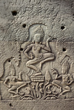 Bas-Relief of Apsara  Angkor World Heritage Site