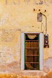 Spanish Style Doorways in the Barrio Viejo District of Tucson  Arizona  Usa