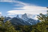 Trek Up to Mount Fitzroy from the UNESCO World Heritage Site El Chalten  Argentina  South America