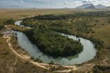 Rupununi River  Savanna Rupununi  Guyana