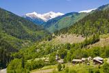 Mountain Scenery of Svanetia  Georgia