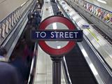 England  London  City of London Interior of St Paul's Underground Station