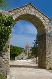 The Motsameta Monastery Near Kutaisi  Georgia