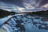 Massachusetts  Pawtucket Falls and Pawtucket Dam on Merrimac River