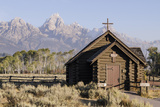 The Episcopal Chapel of the Transfiguration  Grand Teton National Park  Wyoming