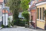Denmark  Funen  Odense  Old Town Street