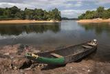 Dugout Canoe Fairview  Iwokrama Reserve  Guyana
