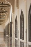 Qatar  Doha  Abdul Wahhab Mosque  the State Mosque of Qatar  Courtyard Walkway