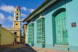 Cuba  Sancti Spiritus Province  Trinidad Iglesia Y Convento De San Francisco Towers over the City