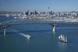 Spirit of New Zealand Tall Ship  Passenger Ferry  Auckland  North Island  New Zealand