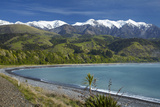 Seaward Kaikoura Ranges  Mangamaunu  Near Kaikoura  Marlborough  South Island  New Zealand