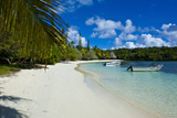 White Sand Beach  Bay De Kanumera  Ile Des Pins  New Caledonia  Melanesia  South Pacific