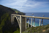 Bixby Creek Bridge  Pacific Coast Highway  Big Sur  Central Coast  California  Usa