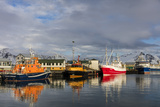 Fishing Vessel in Harbor at Hofn  Iceland