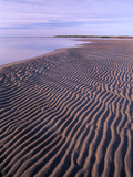 Ripples in the Sand  Kouchibouguac National Park  New Brunswick  Canada