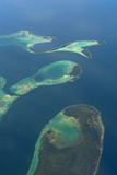 Aerials of the Russell Islands  Solomon Islands  Pacific