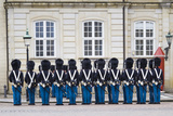 Denmark  Zealand  Copenhagen  Amalienborg Palace  Changing of the Guard Ceremony