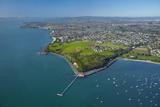 Orakei Wharf and Bastion Point  Auckland  North Island  New Zealand