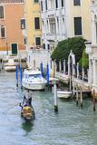 Grand Canal with Gondola Venice Italy