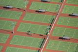 Netball Courts  Auckland Netball Center  Mount Wellington  Auckland  North Island  New Zealand