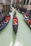 Gondola Traffic Venice Italy