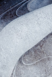 Utah  Abstract Frozen Ice Pattern  Rill Creek  Moab