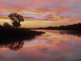 Elmer Thomas Lake  Wichita Mountains National Wildlife Refuge  Oklahoma