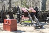 Virginia  Yorktown Victory Center  Continental Army Encampment  Artillery