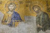 Christian Wall Mosaic Hagia Sophia Istanbul Turkey