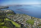 Titirangi Golf Course  Green Bay  and Manukau Harbour  Auckland  North Island  New Zealand