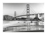 Baker beach and Golden Gate Bridge  San Francisco