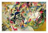 Composition No. 7 Reproduction d'art par Wassily Kandinsky