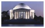 Jefferson Memorial  Washington  DC - Vintage Style Photo Tint Variant