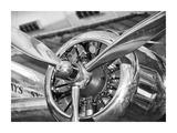 Vintage airplane propeller