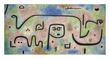 Insula Dulcamara Reproduction d'art par Paul Klee