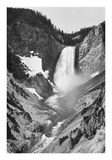 Yellowstone Falls  Yellowstone National Park  Wyoming ca 1941-1942