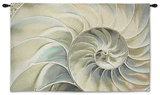 *Exclusive* Nautilus Ocean Blue Wall Tapestry - Small