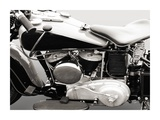 Vintage American V-Twin engine (detail)