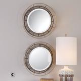 Desario Round Mirror Pair
