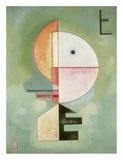 Upward Reproduction d'art par Wassily Kandinsky