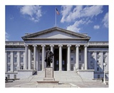 US Treasury building  Washington  DC