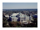 Thomas Jefferson Building from the US Capitol dome  Washington  DC
