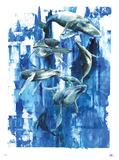 Baleines Édition limitée par Lora Zombie